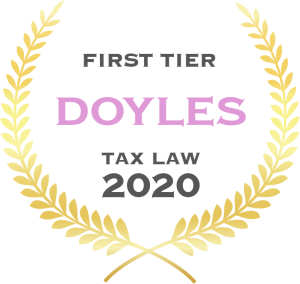 Tax Law - First Tier - 2020